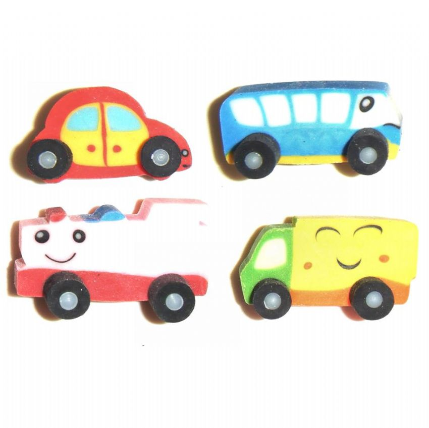 12 x Vehicles Train Bus Car Lorry (Sets of 4) Wholesale Bulk Buy
